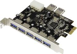 PCIe karta 5+2x USB 3.0 Renkforce RF-3633357