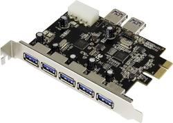 PCIe karta Renkforce, 5+2x USB 3.0