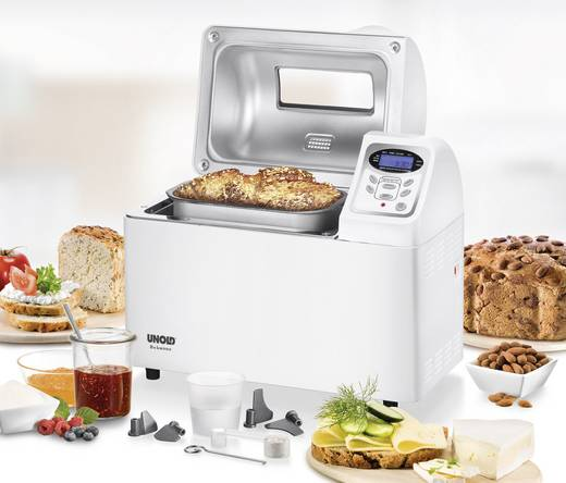 Brotbackautomat Timerfunktion Unold Backmeister Extra Weiß
