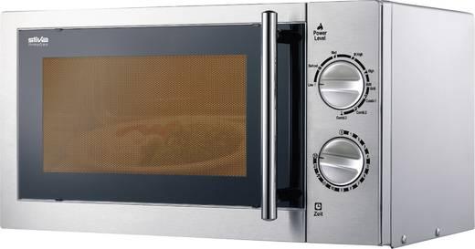 Mikrowelle 700 W Grillfunktion Silva Homeline MW-G 2282