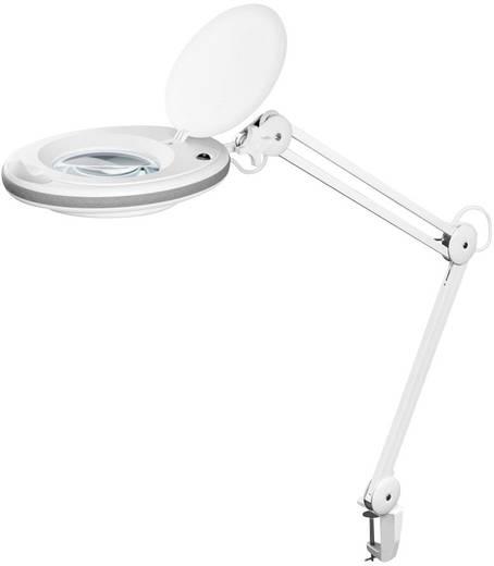 FixPoint 45271 LED Lupenleuchte mit Klemmhalterung Vergrößerungsfaktor: 1,75 x Lupen-Durchmesser: 125 mm Arbeits-Radius: