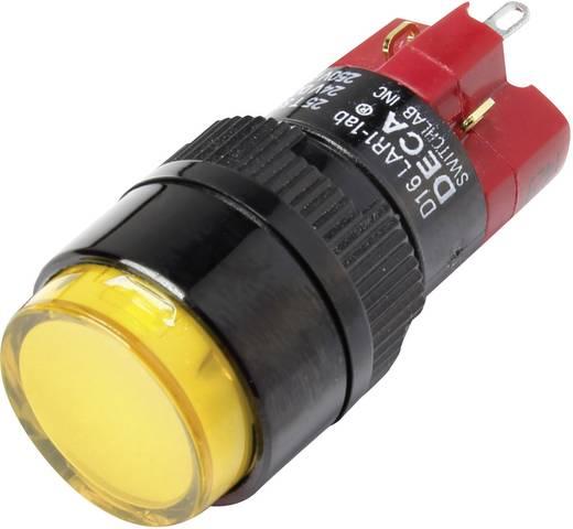 Druckschalter 250 V/AC 5 A 1 x Aus/Ein DECA D16LAR1-1abAY IP40 rastend 1 St.