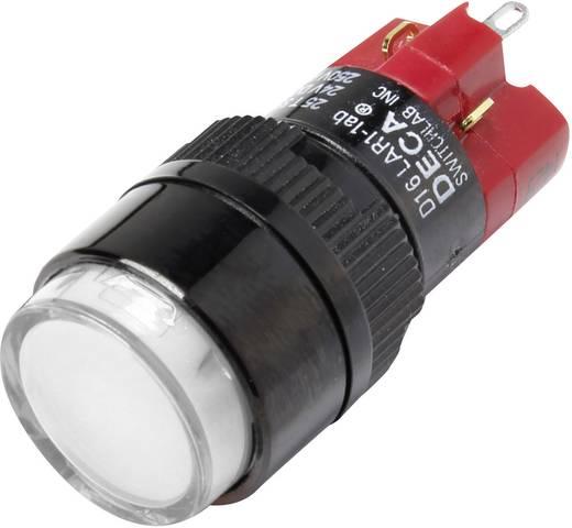 Druckschalter 250 V/AC 5 A 1 x Aus/Ein DECA D16LAR1-1abCW IP40 rastend 1 St.