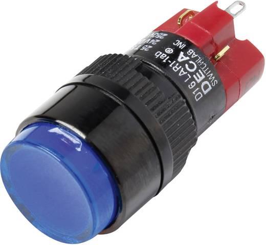 Druckschalter 250 V/AC 5 A 1 x Aus/Ein DECA D16LAR1-1abGB IP40 rastend 1 St.