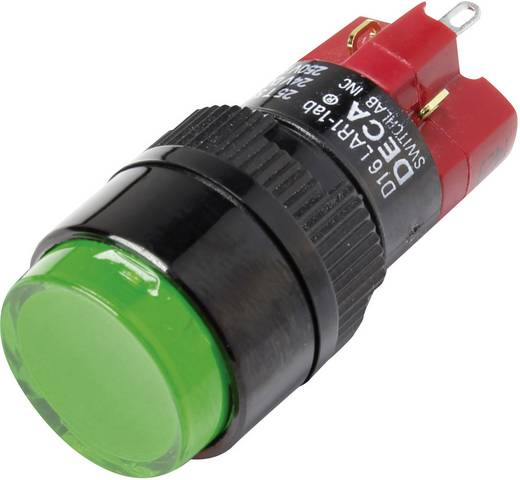 Druckschalter 250 V/AC 5 A 1 x Aus/Ein DECA D16LAR1-1abJG IP40 rastend 1 St.