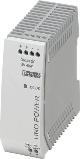 Phoenix Contact UNO-PS/1AC/ 5DC/ 40W Hutschienen-Netzteil (DIN-Rail) 5 V/DC 8 A 25 W 1 x