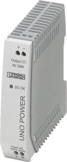 Hutschienen-Netzteil (DIN-Rail) Phoenix Contact UNO-PS/1AC/ 5DC/ 25W 5 V/DC 5 A 25 W 1 x