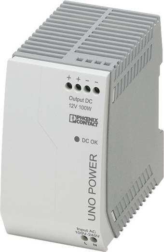 Hutschienen-Netzteil (DIN-Rail) Phoenix Contact UNO-PS/1AC/12DC/100W 12 V/DC 8.3 A 100 W 1 x