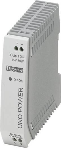 Phoenix Contact UNO-PS/1AC/15DC/30W Hutschienen-Netzteil (DIN-Rail) 15 V/DC 2 A 30 W 1 x