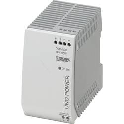 Sieťový zdroj na DIN lištu Phoenix Contact UNO-PS / 1 AC / 48 DC / 100 W 48 V / DC 2.1 A 100 W 1 x