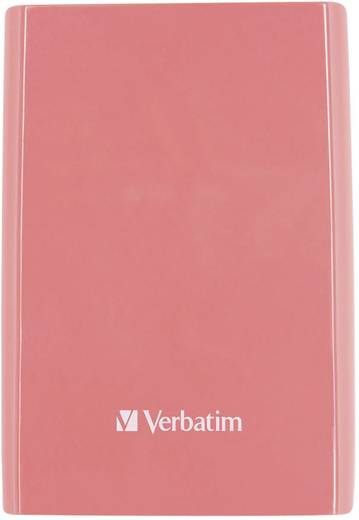 Verbatim Store´n´Go Externe Festplatte 6.35 cm (2.5 Zoll) 500 GB Pink USB 3.0