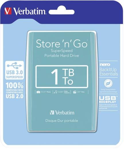 Verbatim Store´n´Go Externe Festplatte 6.35 cm (2.5 Zoll) 1 TB Grün USB 3.0
