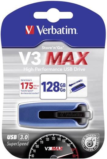 USB-Stick 128 GB Verbatim V3 Max Blau 49808 USB 3.0