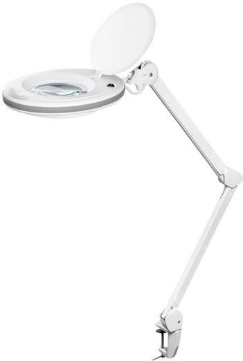 LED Lupenleuchte 7,5 W FixPoint 45268 Vergrößerungsfaktor: 1,75 Lupen-Durchmesser: 125 mm Arbeits-Radius: 90 cm