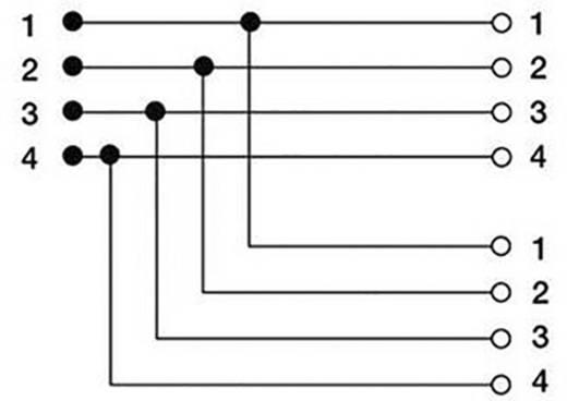 Telefon (analog) Adapter [1x TAE-F-Stecker - 2x TAE-F-Buchse] 0.15 m Schwarz Hama