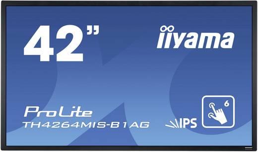 Large Format Display 42 Zoll Iiyama TH4264MIS-B1AG EEK: C 1920 x 1080 Pixel 18/7 Touchscreen, Lautsprecher integriert,