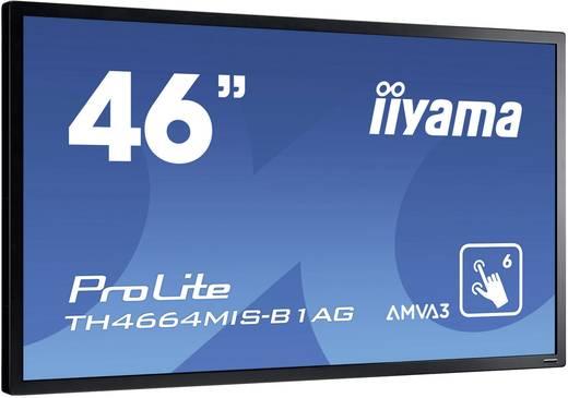 Large Format Display 46 Zoll Iiyama ProLite TH4664MIS-B1 AG EEK: B 1920 x 1080 Pixel 18/7 Touchscreen, Lautsprecher int