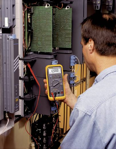 Hand-Multimeter digital Fluke 787/EUR Kalibriert nach: Werksstandard Prozess-Stromausgabe CAT III 1000 V, CAT IV 600 V Anzeige (Counts): 30000