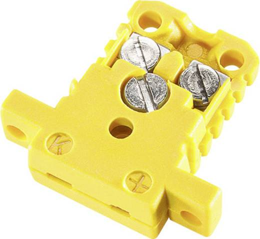 Miniatur-Kupplungsdose K-Typ Gelb NiCrNi 0.5 mm² Gelb B+B Thermo-Technik Inhalt: 1 St.