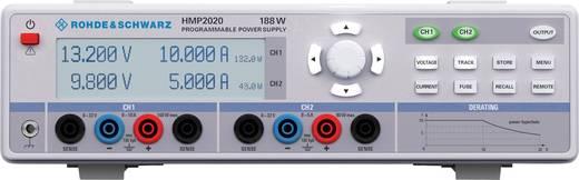 Labornetzgerät, einstellbar Rohde & Schwarz HMP2020 0 - 32 V/DC 0 - 10 A 188 W USB, RS-232 OVP, programmierbar Anzahl Au
