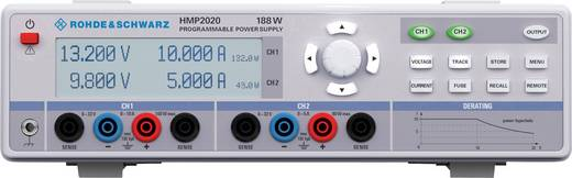 Rohde & Schwarz HMP2020 Labornetzgerät, einstellbar 0 - 32 V/DC 0 - 10 A 188 W USB, RS-232 OVP, programmierbar Anzahl Au