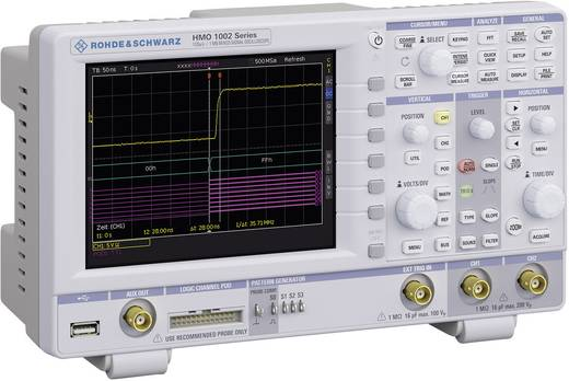 Rohde & Schwarz HMO1002 Digital-Oszilloskop 50 MHz 9-Kanal 1 GSa/s 1 Mpts 8 Bit Digital-Speicher (DSO), Mixed-Signal (M