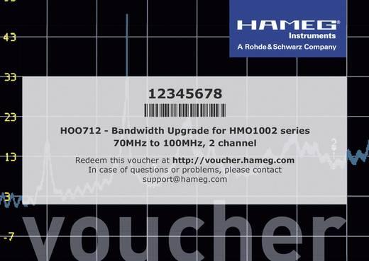Rohde & Schwarz HV712 Gutschein für Lizenzschlüssel zum Bandbreitenupgrade der HMO 1002 Serie von 70MHz auf 100MHz, 580