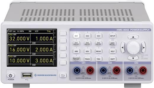 Labornetzgerät, einstellbar Rohde & Schwarz HMC8043 0 - 32 V 0 - 3 A 100 W USB-Host, USB, Ethernet Anzahl Ausgänge 3 x