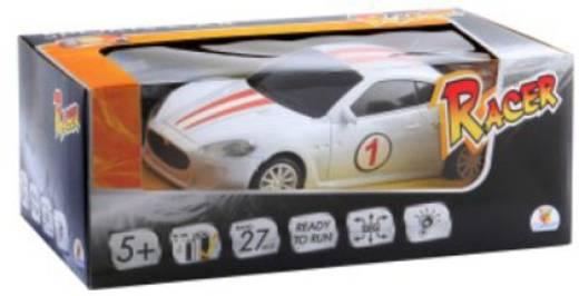 0028063 RC Racer Sports Car 27MHz RC Einsteiger Modellauto