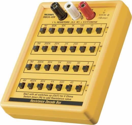 VOLTCRAFT® R-BOX01 Mess-Dekade, Widerstandsdekade 1 - 11111110 Ω 35 V