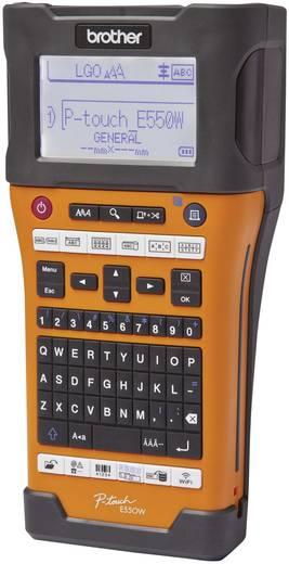 Beschriftungsgerät Brother P-TOUCH E550WVP Geeignet für Schriftband: TZe, HSe 3.5 mm, 6 mm, 9 mm, 12 mm, 18 mm, 24 mm