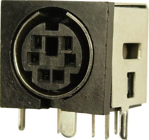 Miniatur-DIN-Rundsteckverbinder Buchse, Einbau horizontal Polzahl: 6 Cliff FC680935 1 St.