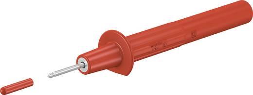 Sicherheits-Prüfspitze Steckanschluss 4 mm CAT II 1000 V Rot Stäubli PP-115/2 ROT