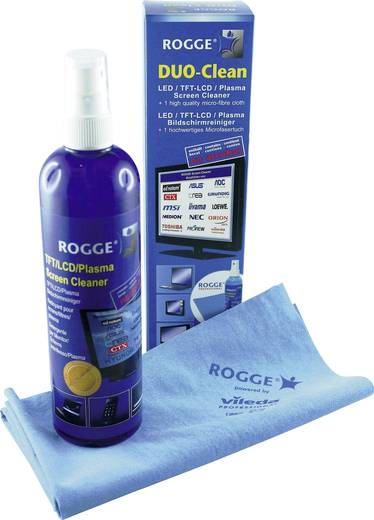 Rogge 10025 Bildschirmreiniger Duo-Clean 250 ml