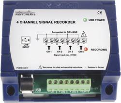 USB datový rekordér Velleman PCS10, 4kanálový