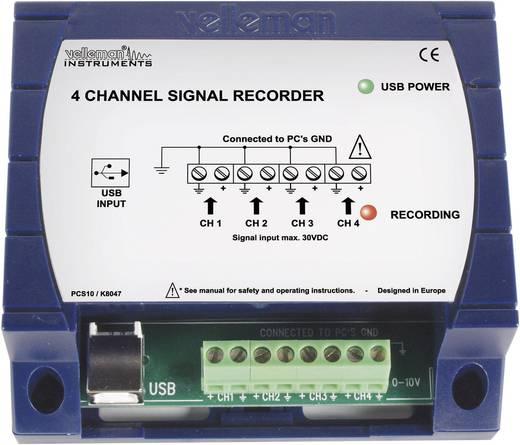 Velleman 4-Kanal USB-Datenrecorder PCS10 100 S/s