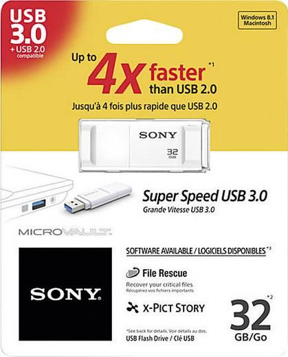 Sony Micro Vault X-Serie USB-Stick 32 GB Weiß USM32GXW USB 3.0