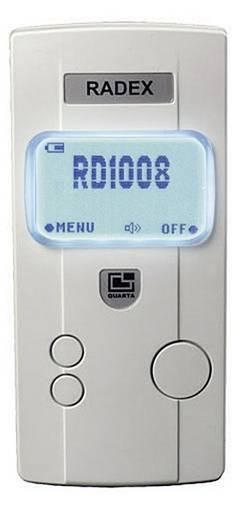Geigerzähler Strahlung: Beta, Gamma RADEX RD1008 akustischer Warnton, inkl. Dosimeterfunktion