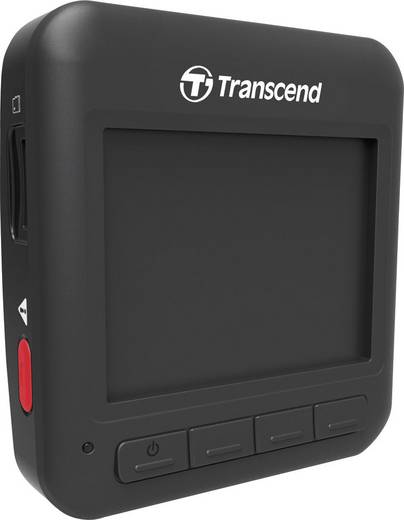 Dashcam Transcend DrivePro 200 Blickwinkel horizontal max.=160 ° 12 V, 24 V Mikrofon, Display