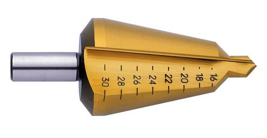 Schälbohrer 36 - 50 mm HSS Exact 50107 Gesamtlänge 97 mm TiN Zylinderschaft 1 St.