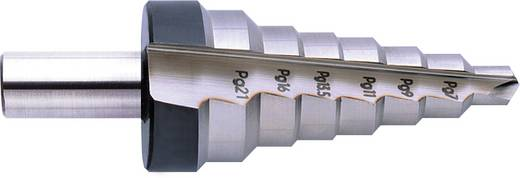 HSS Stufenbohrer PG7 - PG29, 12.5 - 37 mm Exact 05303 Gesamtlänge 92 mm Zylinderschaft 1 St.