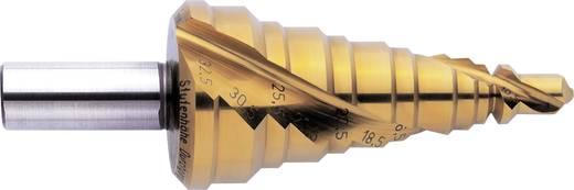 HSS Stufenbohrer 7 - 30.5 mm, 7 - 32.5 mm, M12 - M32 TiAIN Exact 05316 Gesamtlänge 96 mm Zylinderschaft 1 St.