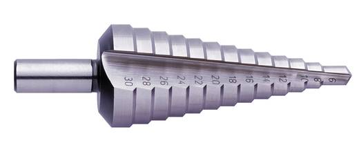 HSS Stufenbohrer 20 - 30 mm Exact 05323 Gesamtlänge 88 mm 3-Flächenschaft 1 St.