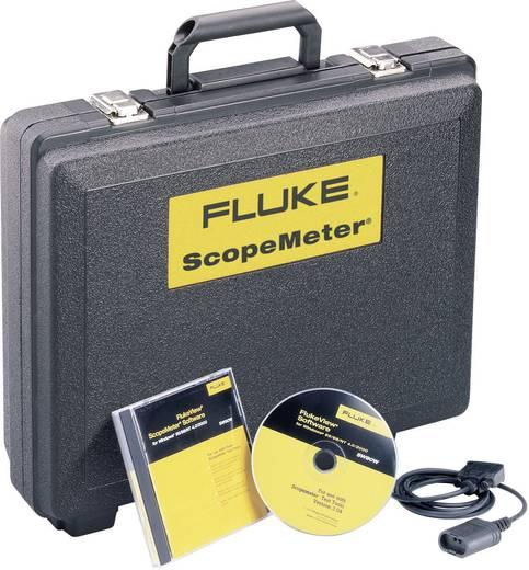 Fluke 190-202/S Hand-Oszilloskop (Scope-Meter) 200 MHz 2-Kanal 2.5 GSa/s 10 kpts 8 Bit Kalibriert nach DAkkS Digital-Spe