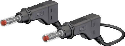 Sicherheits-Messleitung [ Lamellenstecker 4 mm - Lamellenstecker 4 mm] 2 m Schwarz MultiContact XZG425-E 200 CM SCHWARZ