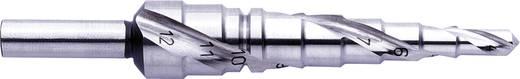 HSS Stufenbohrer 4 - 12 mm Exact 07026 Gesamtlänge 80 mm 3-Flächenschaft 1 St.