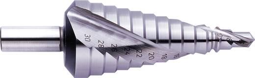 HSS Stufenbohrer 6 - 30 mm Exact 07028 Gesamtlänge 98 mm 3-Flächenschaft 1 St.