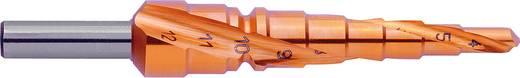 HSS Stufenbohrer 4 - 12 mm TiN Exact 07031 Gesamtlänge 80 mm 3-Flächenschaft 1 St.