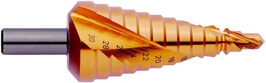 HSS Stufenbohrer 6 - 30 mm TiN Exact 07033 Gesamtlänge 98 mm 3-Flächenschaft 1 St.