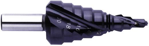 HSS Stufenbohrer-Set 4 - 20 mm, 4 - 12 mm, 6 - 30 mm TiAIN Exact 07039 3-Flächenschaft 1 St.